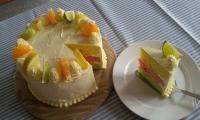 Rainbow Citrus Cake Spesial, Sajian Nikmat untuk Anak di Hari Istimewa