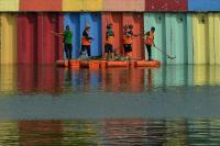 Sambut Asian Games, 2.000 Pasukan Oranye Bersihkan Danau Sunter