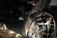 Mobil Neno Warisman Dibakar Orang Tak Dikenal