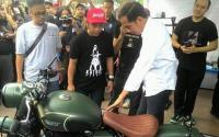 Jokowi Hadiri Pameran Otomotif Tumplek Blek di Kemayoran