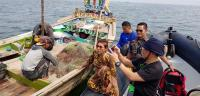 Susi Pudjiastuti Temui Nelayan di Tengah Laut, Bahas Apa?