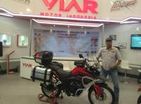 Viar Vortex Produksi Semarang Akan Jalani Touring Jakarta-Himalaya