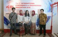Berkat Ubi Cilembu, 6 Mahasiswa ITB Raih Penghargaan International Engineering Innovation Thailand