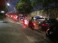 Arus Lalu Lintas Sebagian Jalanan di Jaksel Macet