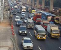 Libur HUT Ke-73 RI, Tol Jakarta-Cikampek Macet