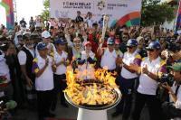 Besok Api Asian Games Dibawa ke GBK, Ini Rute yang Dilaluinya