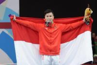 Jokowi Apresiasi Atlet Wushu yang Sabet Medali Pertama untuk Indonesia
