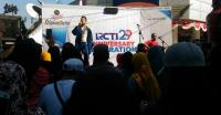 Hibur Warga Surabaya, Glen Idol Tampil di RCTI29 On The Street