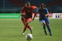 Timnas Sepakbola Wanita Indonesia Tertinggal 0-4 dari Taiwan di Babak Pertama