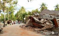Keluarga yang Rumahnya Roboh karena Gempa Lombok Disantuni Pemerintah Rp50 Juta