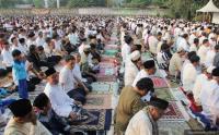 Khawatir Gempa Susulan, Pengungsi di Sembalun Memilih Salat Idul Adha di Halaman Terbuka