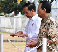 Tinjau Pembangunan Irigasi di Sleman, Jokowi Dialog dengan Warga