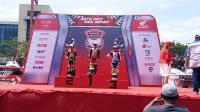 Veda Ega, Pembalap Cilik yang Juarai HDC Surabaya Kelas Pemula U-12