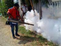 Tekan Penyakit DBD, Rescue Perindo Lakukan Fogging di Sidoarjo