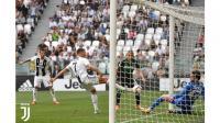 Ronaldo Butuh 27 Tembakan untuk Cetak Gol Perdana Bersama Juventus