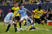 Guardiola: Mahrez Masih Butuh Waktu