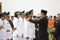 Lantik 6 Kepala Daerah di Jawa Barat, Ridwan Kamil: Integritas Harga Mati!