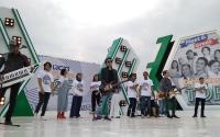 Bintang Tukang Ojek Pengkolan Meriahkan Meet and Greet RCTI di Tangerang