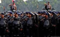 4.000 Polisi-TNI Amankan Laga Persib Vs Persija di Bandung
