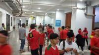 Penonton Mulai Ramaikan Stadion Pakansari Dukung Timnas Indonesia U-19