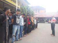 Tak Terbukti Bersalah, Polres Malang Kota Bebaskan 43 Pesilat
