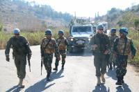 Satgas Indobatt dan Battalion Finlandia Gelar Latihan Bersama di Lebanon
