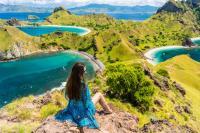Romantisnya Kimberly Ryder-Edward Akbar Bulan Madu Bertemu Komodo