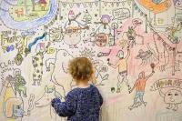 Anak Doyan Coret-Coret Tembok? Jangan Dimarahi, Ini Dampak Positifnya