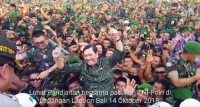 Pertemuan IMF-World Bank Sukses, Menko Luhut Goyang Dangdut meski Tak Tahu Lagunya