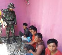 Anggota TNI Tangkap Pencuri Kabel Listrik di Lokasi Gempa-Tsunami Palu