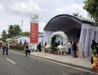 Viral Foto Pesta Pernikahan Digelar di SPBU