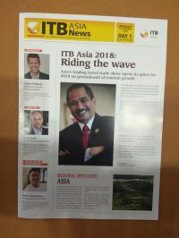 Menpar Arief Yahya Jadi Bintang di ITB Asia News 2018