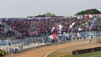 Tak Boleh Dampingi Tim, Aremania Nobar di Luar Stadion Kanjuruhan