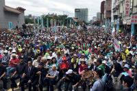 Ribuan Warga Taiwan Gelar Demonstrasi Tuntut Referendum Kemerdekaan dari China