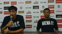 Menang atas Bali United, Arema FC Ucapkan Terima Kasih kepada Suporter