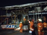 Kebakaran Kantor Proyek di Antasari Berhasil Dipadamkan