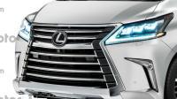 Sosok Pesaing Toyota Alphard dari Lexus