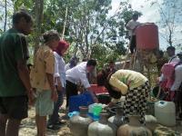 Partai Perindo Tepati Janji, 8.000 Liter Air Bersih Disediakan untuk Daerah Kekeringan