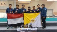 Tim Robotik UGM Juarai Kompetisi Robot Dunia di Korsel