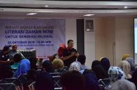 Generasi Milenial Ikuti Seminar MNC soal Literasi Zaman Now