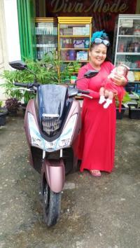 Yamaha Lexi Jadi Ide Nama Bayi Asal Sumatera Utara