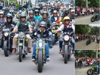 Kawasaki W175 Kembali Digunakan Jokowi Riding Peringati Hari Pahlawan