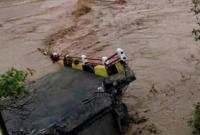 Jembatan Baja di Aceh Barat Ambruk Diterjang Arus Sungai