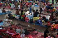 Trauma Banjir, Warga Pangandaran Pilih Bertahan di Pengungsian