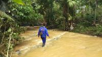 Korban Terseret Arus Banjir Pangandaran Ditemukan di Sungai