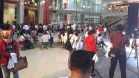 Pendukung dan Relawan Jokowi-Ma'ruf Padati Lokasi Acara  01Fest