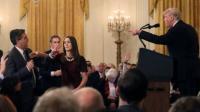 Wartawan CNN yang 'Cekcok' dengan Trump Diizinkan Kembali Meliput di Gedung Putih