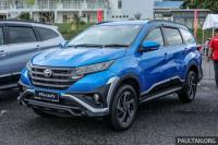 Toyota Rush di Negara Tetangga Miliki Tampang Lebih Ciamik