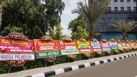 Ringkus Hercules, Kapolda Metro Jaya Kebanjiran Karangan Bunga