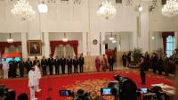 Jokowi Lantik Gubernur Riau dan Bengkulu di Istana Negara